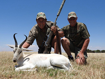 White Springbok Hunt