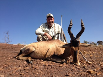 July 2013 Red Hartebeest Hunt