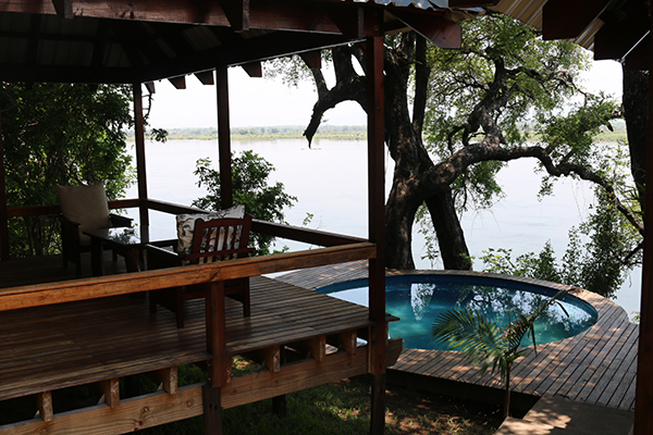 Swimming Pool on the Zambezi